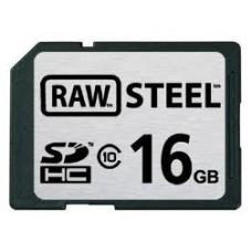 Карта памяти SDHC RAW Steel 16GB