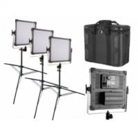 Комплект светодиодных панелей Bi-Color K4000 Daylight LED Studio