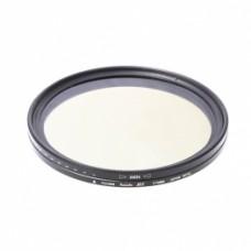 Переменный фильтр нейтральной плотности FUJIMI Vari-ND 67mm
