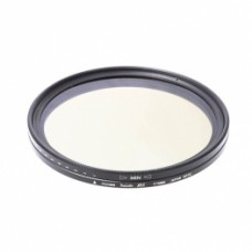 Переменный фильтр нейтральной плотности FUJIMI Vari-ND ND400 62mm
