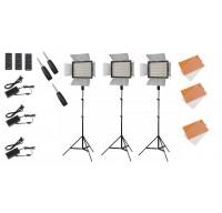 Комплект светодиодных панелей Yongnuo YN 600L II Bi-Color Trio