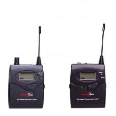 Беспроводной микрофон c ухом panvotech 200 R
