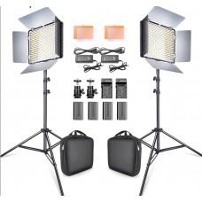 Комплект светодиодных панелей Samtian TL-600A 2.4G Bi-Color Duo