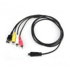 3 RCA - USB VMC-MD3 для Sony