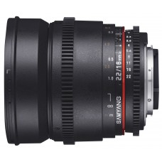 Samyang 16mm T2.2 ED AS UMC CS VDSLR Canon EF-S (неполнокадровый)
