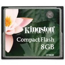 Картa памяти Kingston CompactFlash 8 Gb 15 Mb/s