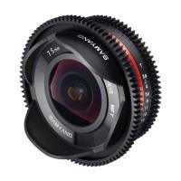 Объектив Samyang 7,5mm T/3.8 Cine UMC Fisheye Micro 4/3