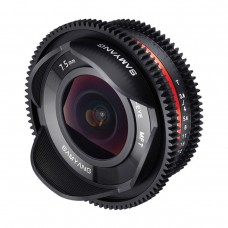 Объектив Samyang 7,5mm T3.8 Cine UMC Fisheye Micro 4/3