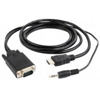 Переходник Cablexpert  HDMI-VGA