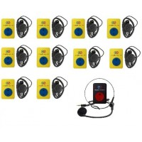 Служебная связь Сrystal sound с 10 приемниками