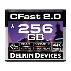 Карта памяти Cfast 2.0  Delkin devices 256GB
