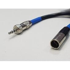 Аудиокабель mini Jack (m) - mini XLR (m) 0.5 м