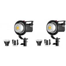 Комплект светодиодных приборов постоянного света Ambitful FL80 RGB