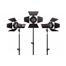 Комплект из трёх светодиодных приборов Aputure Storm LS-mini 20D (7500K)