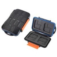 Кейс для карт памяти WaterProof Anti-Shock 4CF 8XD 8MicroSD