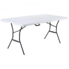 Складной стол LifeTime со складной лавкой