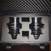 Комплект объективов Cooke Anamorphic / i  2х (32, 50, 75, 100 mm)