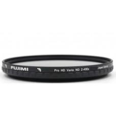 Переменный фильтр нейтральной плотности FUJIMI Vari-ND ND400 72mm