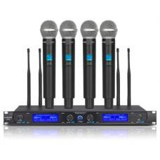 Четырехканальная радиомикрофонная система G-MARK G440