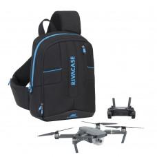 Рюкзак Rivacase black Dron Slingbag medium