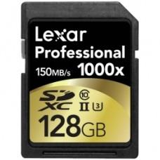 Карта Lexar Professional SDXC 1000x 128Gb 150Mb/s