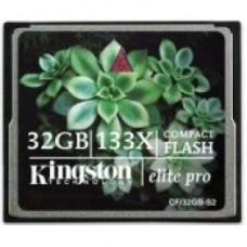 Картa памяти Kingston CompactFlash 133X 16 Gb 15 Mb/s