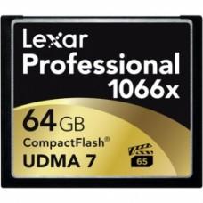 Карта памяти Lexar Compact Flash 64GB 1066x 160 MB/s
