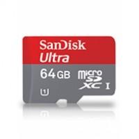 Карта SanDisk Ultra microSDXC 64Gb