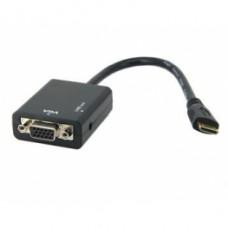 Переходник mini HDMI - VGA