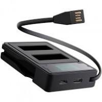Зарядное устройство (USB) для 2-х аккумуляторов GoPro HERO 9