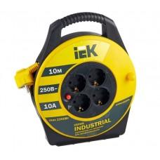 Удлинитель IEK 10 метров с термозащитой