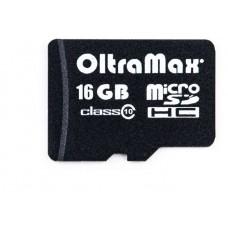 Карта памяти OltraMax microSDHC 16GB 10MB/s