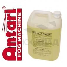 Дым-жидкость Antari FLY-5 1 литр (желтая), медленного рассеивания