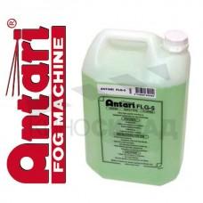 Дым-жидкость Antari FLG-5 1 литр (зеленая), среднего рассеивания