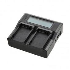 Зарядное устройство для аккумуляторов Canon LP-E6 на 2 слота