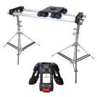 Слайдер для тяжелых камер Dana Dolly Slider (2-3,5м) на трубах до 30 кг