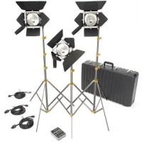 Комплект из трёх приборов постоянного света Lowel Omni-Light 500W