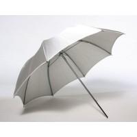 Серебристый зонт для приборов постоянного света