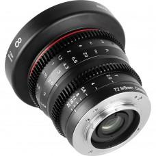 Объектив Meike 8mm T2.9 Cinema Lens MFT