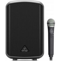 Портативная акустическая система Behringer с микрофоном