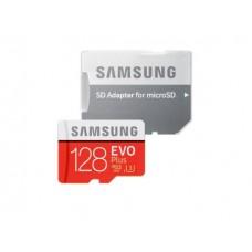 Карта памяти Samsung EVO Plus microSDXC 128Gb Class 10 UHS-I U3