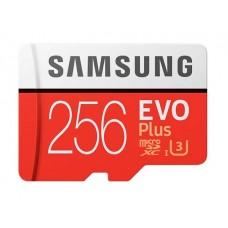 Карта памяти Samsung EVO Plus microSDXC 256Gb