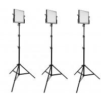 Комплект из трех светодиодных панелей Samtian L-4500 (Bi-Color)