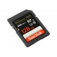 Карта памяти SanDisk Extreme Pro SDXC UHS-II 128GB 300Mb\s