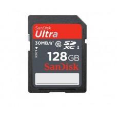 Карта памяти  SanDisk 128GB SDXC Ultra Class 10 UHS-1