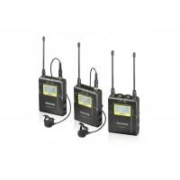 Петличная радиосистема двухканальная Saramonic UwMic9 TX9+TX9+RX9