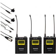 Двухканальная петличная радиосистема Saramonic UwMic9 TX9+TX9+RX9