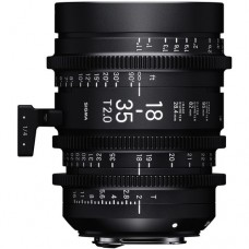 Sigma 18-35 T2 High-Speed Zoom Lens Canon EF