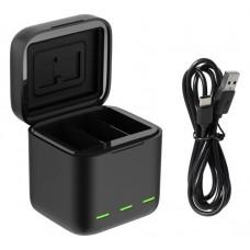 Зарядное устройство (USB) для 3-х аккумуляторов GoPro HERO 9