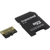 Карта памяти  Transcend microSDHC 633x 64gb
